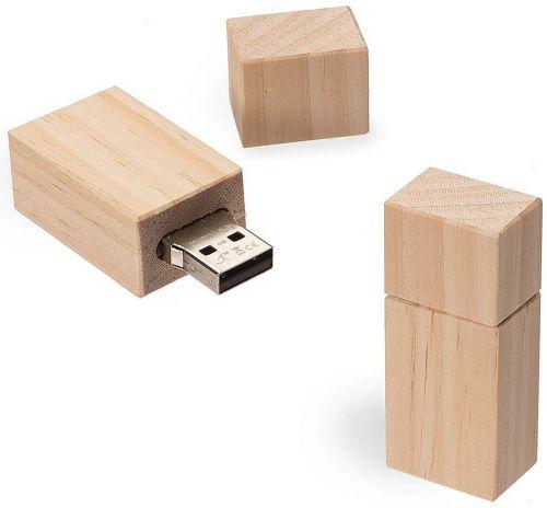 USB Stick Timber Kiefer als Werbeartikel