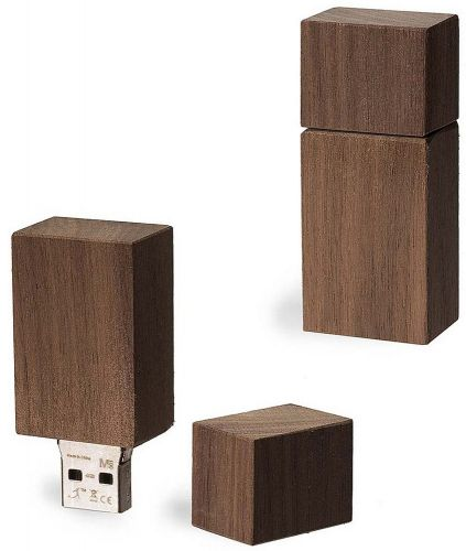 USB Stick Timber Nussbaum als Werbeartikel