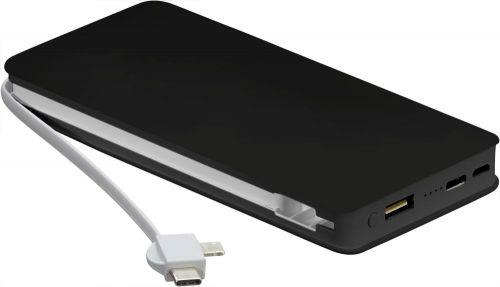 Powerbank Wireless Charger + Kabel als Werbeartikel