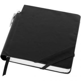 Patch the Edge Notizbuch mit Kugelschreiber