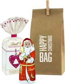 Präsentset Happy Xmas Bag Lindt