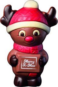 Rentier Rudi Merry X-Mas als Werbeartikel