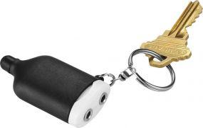2 in 1 Musiksplitter Schlüsselanhänger mit Stylus als Werbeartikel