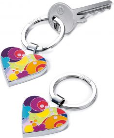 TROIKA Schlüsselanhänger I LOVE SHOPPING als Werbeartikel
