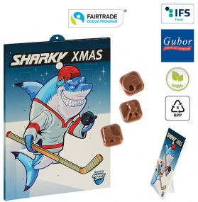 Eishockey-Schoko-Adventskalender Fairtrade