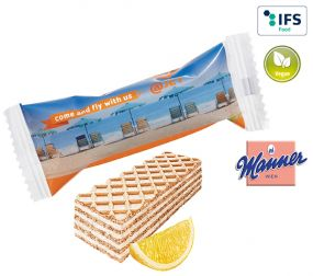 Manner Zitrone Waffel