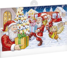 Classic Schoko-Adventskalender BASIC Fairtrade OHNE Werbeeindruck