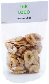 Bananenchips als Werbeartikel