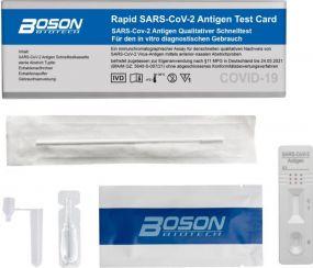 Boson Covid-19 Antigen Schnelltest, 5er Pack als Werbeartikel