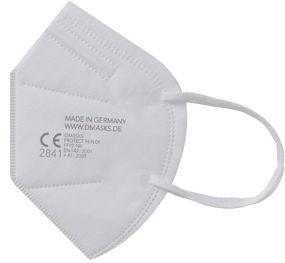 Atemschutzmaske Protect 21 FFP2 NR, inkl. 1c Druck in grau
