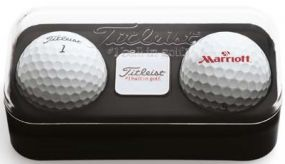 Titleist Golfbälle Ballmarker Box