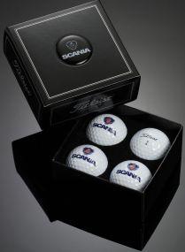 Titleist 4er Golfball Box inkl. Doming