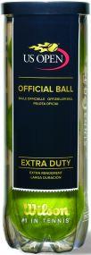 Wilson U.S. Open Tennisbälle in 3-Ball-Tube