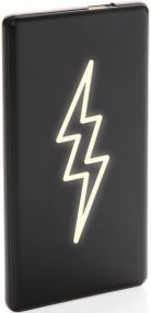 Powerbank Light up logo als Werbeartikel