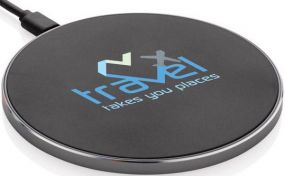 Wireless Fast Charger 15W als Werbeartikel
