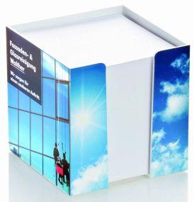 Zettelbox Standard mit Digitaldruck