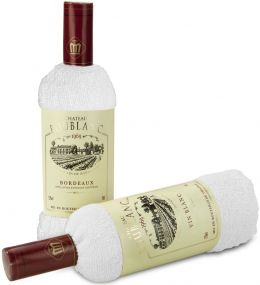 Präsent Chateau Frottee Blanc als Werbeartikel