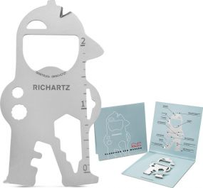 Multitool Richartz Key Tool Bob als Werbeartikel