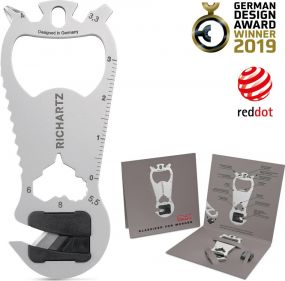 Richartz Multitool Key Tool cut als Werbeartikel