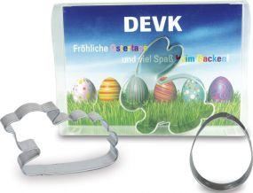Backförmchen Box Ostern - Ei als Werbeartikel