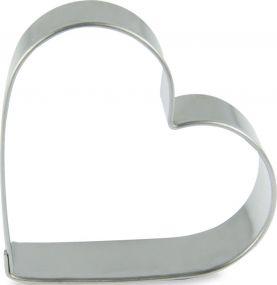 Backförmchen in Slide-Box - Herz als Werbeartikel