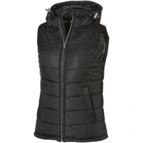 Damen Bodywarmer Mixed Doubles mit Kapuze