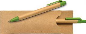 recycling Schreibset als Werbeartikel