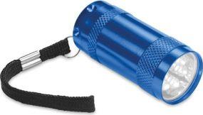 Taschenlampe mit 6 LEDs als Werbeartikel