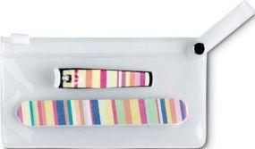 Mini-Maniküre Set in PVC Etui als Werbeartikel