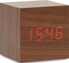 LED Tischuhr mit Alarmfunktion als Werbeartikel