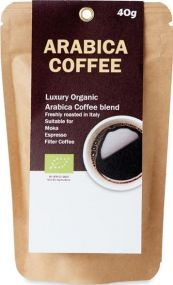 Bio-Arabica Kaffeepulver 40g als Werbeartikel