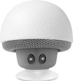 5.0 BT Lautsprecher Pilz mit Licht als Werbeartikel