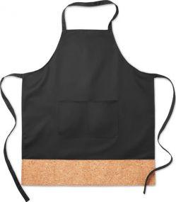 Küchenschürze mit Korkbesatz als Werbeartikel