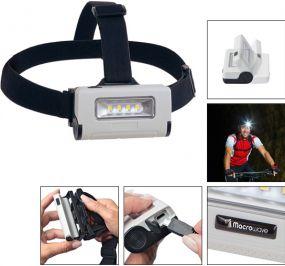 Aufladbare Stirn-/Kompaktleuchte Profi Head Light 220 L