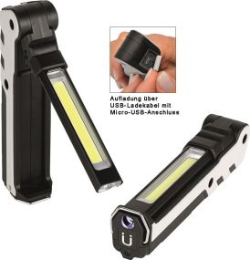 Aufladbare LED Leuchte Wave Light L 380 L