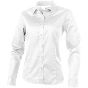 Wilshire Damen Langarm Bluse als Werbeartikel
