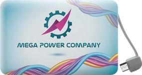 Powerbank Rome für Android und Apple als Werbeartikel