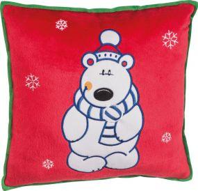 Weihnachtskissen mit verschiedenen Motiven als Werbeartikel