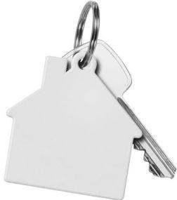 """Schlüsselanhänger """"Haus"""" als Werbeartikel"""