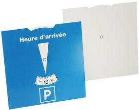 Karton-Parkscheibe Frankreich als Werbeartikel