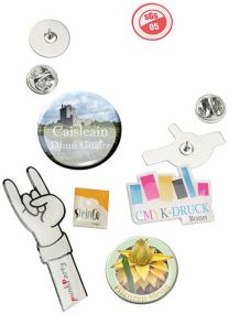 Pin - Metall-Anstecker als Werbeartikel
