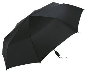 AOC-Oversize-Taschenschirm Magic Windfighter  Flat Black als Werbeartikel
