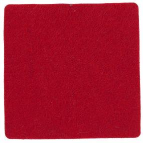 Polyesterfilz Untersetzer Quadrat
