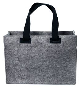 Polyesterfilz Shopper mit pull-out