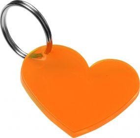 Schlüsselanhänger Herz als Werbeartikel