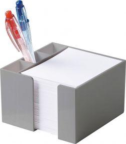 Zettelbox Stifteköcher als Werbeartikel