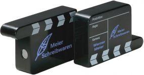 Bleistiftspitzer Filmklappe als Werbeartikel