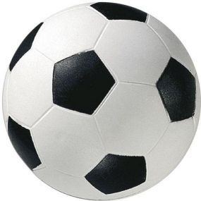 Springball Fußball klein als Werbeartikel