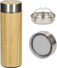 Vakuum Flasche Bambus, small