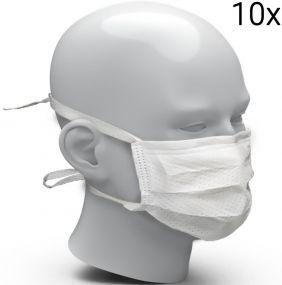 Behelfsmundschutz aus FFP2-Vlies, 10er Set